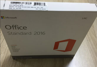 FPP Microsoft Office 2016 Standard Product Key , Office 2016 Retail Key 32 / 64 Bit