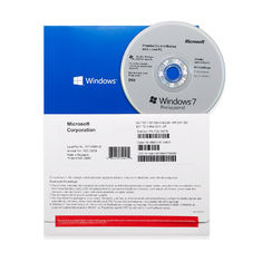 Multi Language Computer Software System Microsoft Windows 7 Pro FPP 32/64 Bit OEM Box