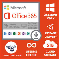Global Usage Microsoft Office Key Code Computer Advanced Security Per Person Office 365 Pro Plus For 5 Users